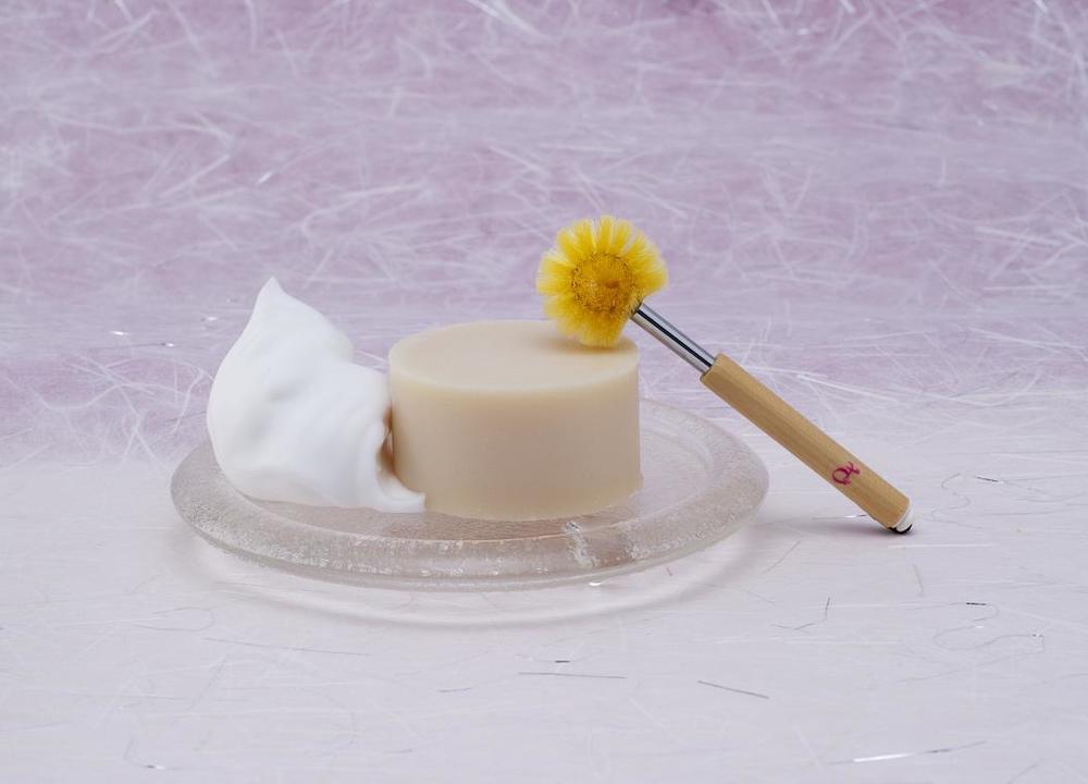 小鼻美人ブラシ(黄金)×天糸の絹珠セット